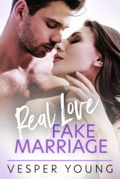 bargain ebooks Real Love, Fake Marriage Contemporary Romance by Vesper Young