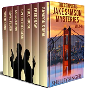 bargain ebooks The Complete Jake Samson Mystery Series Vol 1-6: With Bonus Book--Torch Song: A Dystopian Thriller! Mystery Thriller by Shelley Singer