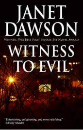 bargain ebooks Witness to Evil Mystery by Janet Dawson
