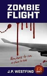 bargain ebooks ZOMBIE FLIGHT Horror by J.P. Westfind