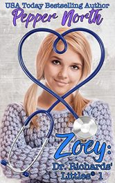 bargain ebooks Zoey: Dr. Rickards' Littles 1 Erotic Romance by Pepper North