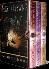 bargain ebooks Cavern of Pleasures Boxset Super Hot Historical Romance by Em Brown