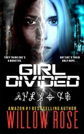 bargain ebooks Girl Divided Young Adult/Teen Post-Apocalyptic SciFi by Willow Rose