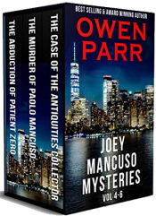 bargain ebooks Joey Mancuso Mysteries: Volumes 4 - 6 Mystery by Owen Parr