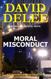 bargain ebooks Moral Misconduct Police Procedural Thriller by David DeLee