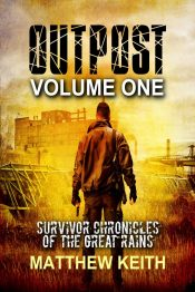 bargain ebooks Outpost Apocalyptic Science Fiction by Matthew Keith