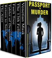 bargain ebooks Passport to Murder: Murder International Mystery by Michaela Thompson, Tracy Whiting, Rob Swigart, Dick Cluster, Carrie Bedford