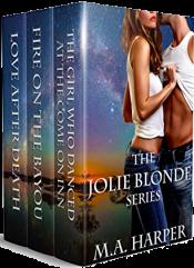 bargain ebooks The Jolie Blonde Series Vol 1-3: A Louisiana Trilogy Mystery by M.A. Harper