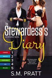bargain ebooks The Stewardess's Diary, Parts 1-5 Erotic Romance by S.M. Pratt