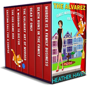 bargain ebooks The Alvarez Family Murder Mysteries: Vol 1-7 Mystery by Heather Haven