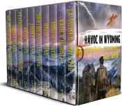 bargain ebooks The Complete Havoc in Wyoming Series: A Ten-Book Box Set Post-apocalyptic Science Fiction by Millie Cooper