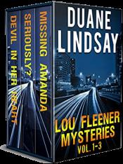 bargain ebooks The Lou Fleener Private Eye Series: Books 1-3 (A private eye thriller series Box set (Lou Fleener Mysteries Book 5)