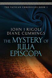bargain ebooks The Mystery of Julia Episcopa Historical Mystery by John I. Rigoli and Diane Cummings