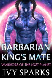 bargain ebooks Barbarian King's Mate: A Sci-Fi Alien Romance Sci-Fi Alien Romance by Ivy Sparks