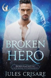 bargain ebooks Broken Hero Paranormal Romance by Jules Crisare