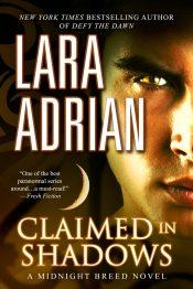 amazon bargain ebooks Claimed in Shadows: A Midnight Breed Novel Paranormal/Vampire Romance by Lara Adrian