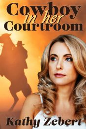 amazon bargain ebooks Cowboy in Her Courtroom Sweet Romantic Suspense by Kathy Zebert