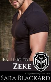 bargain ebooks Falling for Zeke Clean and Wholesome Suspense Romance by Sara Blackard