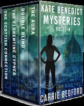 bargain ebooks Kate Benedict Cozy British Mysteries Vol 1-4 Cozy British Mystery by Carrie Bedford