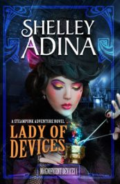 bargain ebooks Lady of Devices Steampunk SciFi Historical Adventure by Shelley Adina