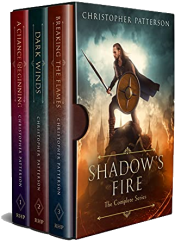 bargain ebooks Shadow's Fire Fantasy by Christopher Patterson