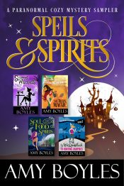 bargain ebooks Spells and Spirits Mystery by Amy Boyles