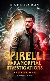 bargain ebooks Spirelli Paranormal Investigations: Season One: Episodes 1-6 Paranormal Mystery by Kate Baray