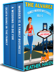 bargain ebooks The Alvarez Family Murder Mysteries: Vol 1-3 Mystery by Heather Haven