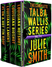 bargain ebooks The Complete Talba Wallis Series: Vol. 1-4 Mystery Thriller by Julie Smith