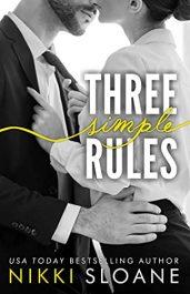 amazon bargain ebooks Three Simple Rules Erotic Romance by Nikki Sloane