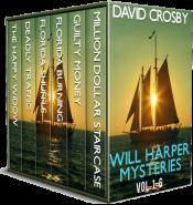 bargain ebooks Will Harper Florida Thrillers: Vol. 1-6 (Will Harper Mysteries) Mystery/Thriller Adventure by David Crosby