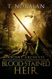 bargain ebooks Blood-Stained Heir Dark Fantasy Horror by T. Norman