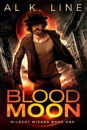 bargain ebooks Blood Moon (Wildcat Wizard Book 1) Urban Fantasy Thriller by Al K. Line