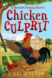 amazon bargain ebooks Chicken Culprit Cozy Mystery by Vikki Walton