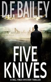 bargain ebooks Five Knives Mystery Thriller by D.F. Bailey