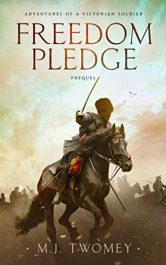 bargain ebooks Freedom Pledge Historical Fiction by M. J. Twomey