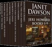 bargain ebooks The Jeri Howard Anthology: Books 1-9 Mystery by Janet Dawson