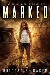 bargain ebooks Marked Young Adult Science Fiction Horror by Bridget E. Baker