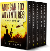 bargain ebooks The Complete Morgan Fox Adventures: Five Story Box Set - More than 650 Pages of Super-Fast Action-Adventure Action/Adventure by J. T. Skye