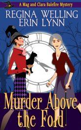 bargain ebooks Murder Above The Fold (Elder Witch Mysteries - Book #1) Paranormal Mystery by ReGina Welling & Erin Lynn