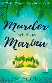 bargain ebooks Murder at the Marina Cozy Mystery by Ellen Jacobson