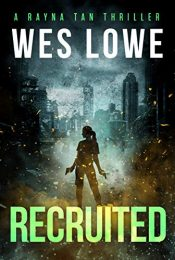 bargain ebooks Recruited Action Thriller by Wes Lowe