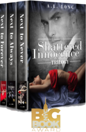 bargain ebooks Shattered Innocence Trilogy: Boxed set Erotic Romance by A.L. Long