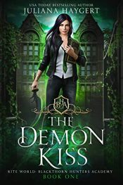 bargain ebooks The Demon Kiss Young Adult Dark Fantasy Horror by Juliana Haygert
