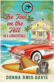 bargain ebooks The Fool on the Hill in a Convertible 60's Surf Shop Mystery by Donna Amis Davis