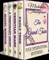 bargain ebooks The Grand Tour: Four International Mysteries Mystery by Michaela Thompson