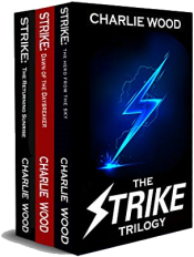 bargain ebooks The Strike Trilogy Box Set Young Adult/Teen Superhero SciFi by Charlie Wood