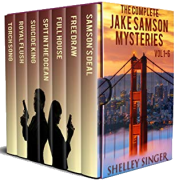 bargain ebooks The Complete Jake Samson Mystery Series Vol 1-6: With Bonus Book--Torch Song: A Dystopian Thriller! (The Jake Samson & Rosie Vicente Detective Series)