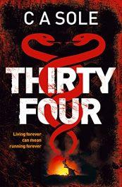 bargain ebooks Thirty-Four Horror by CA Sole