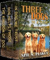 bargain ebooks Three Dogs in a Row Cozy Mystery by Neil S Plakcy